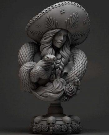 La Charra | Neko Galaxy | Stonebeard Miniatures