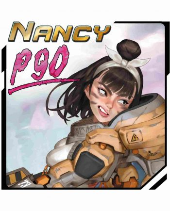 Miniatures-Neko Galaxay Miniatures- Nancy P90-Front-poster-Stonebeard Miniatures