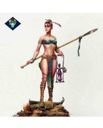 .Miniature-Aradia Miniatures-Aelania dragons charmer-stonebeard miniatures