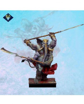 .Miniature-Aradia Miniatures-Ganesh-painted-stonebeard miniatures1