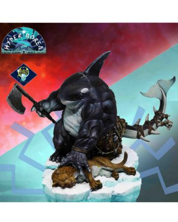 Miniature-Aradia Miniatures-Tulkha- The Killer Whale.painted