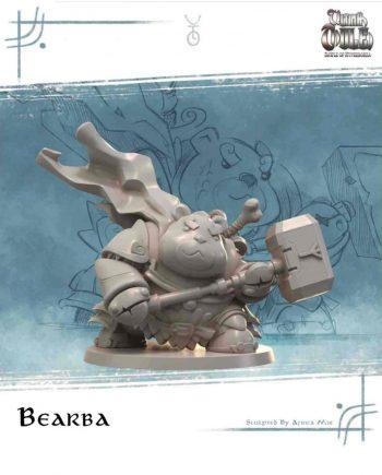 Stonebeard Miniatures Aradia Miniatures bearba Ultima Thule unpainted miniature)