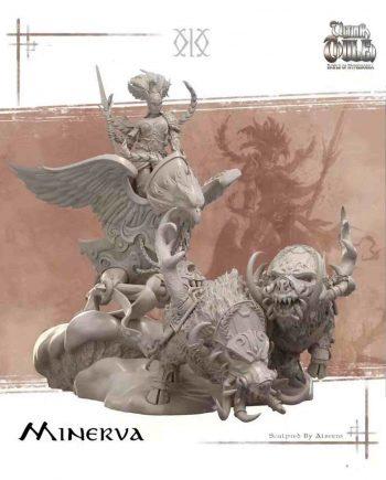 Stonebeard Miniatures Kimera Models Minerva Chariot Ultima Thule unpainted miniature