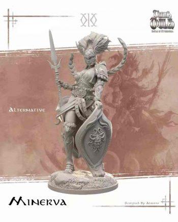 Stonebeard Miniatures Kimera Models Minerva Ultima Thule unpainted miniature