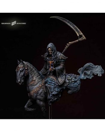 Miniature-Galapagos Miniatures-The Harbringer of Dealth-front-painted1-Stonebeard Miniatures