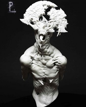 Miniature-Pedro Fernandez Works-Astaroth-front-unpainted