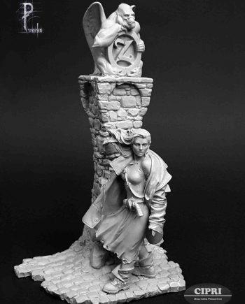 Miniature-Pedro Fernandez Works-Dorothy-front-unpainted