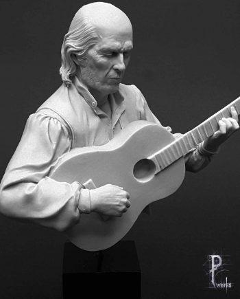 Miniature-Pedro Fernandez Works-El Maestro-front-unpainted