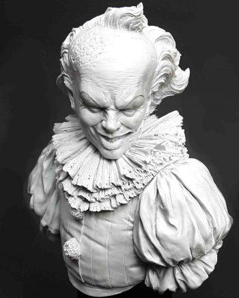 Miniature-Pedro Fernandez Works-The Clown-front-unpainted