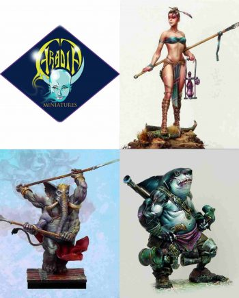 Aradia Miniatures Classics Packs