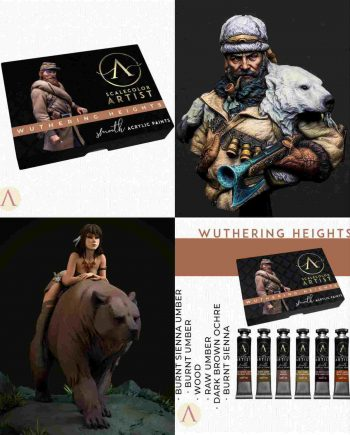 Stonebeard Miniatures Packs and Bundles Wuthering Heights Creepytables 75mm Bust Galapagos Display Miniatures